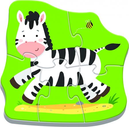 PUZZLE TREFL BABY CLASIC ANIMALE SAFARI [3]