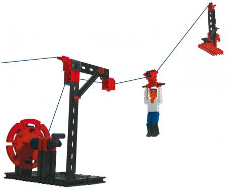 Set constructie ADVANCED Cable Railway - 3 modele [2]