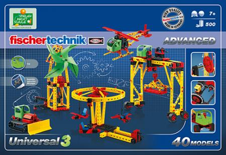Set constructie ADVANCED Universal 3 - 40 modele1