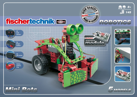 Set constructie ROBOTICS Mini Bots [1]