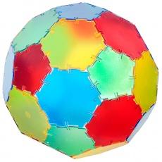 Set constructii Polydron Translucent 20 hexagoane0