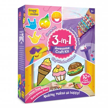 Set Creativ pentru copii 3 in 1 [0]