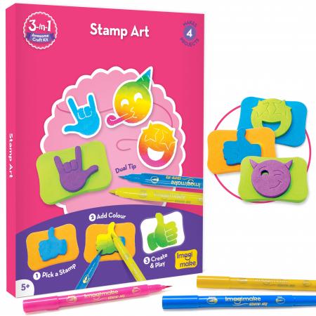 Set Creativ pentru copii 3 in 1 [4]