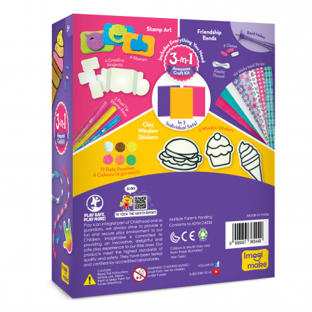 Set Creativ pentru copii 3 in 1 [1]