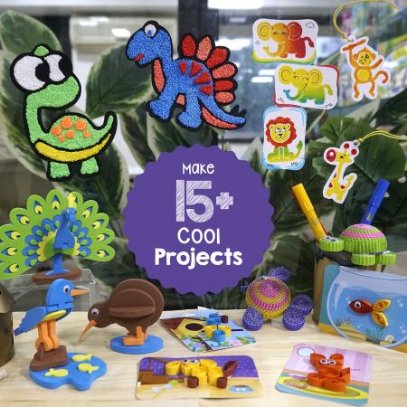 Set Creativ pentru copii 5 in 1 [2]