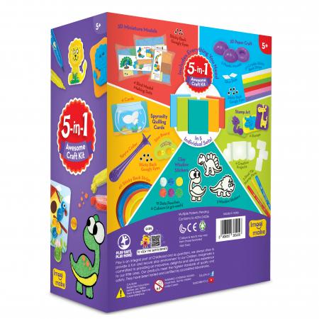 Set Creativ pentru copii 5 in 1 [1]
