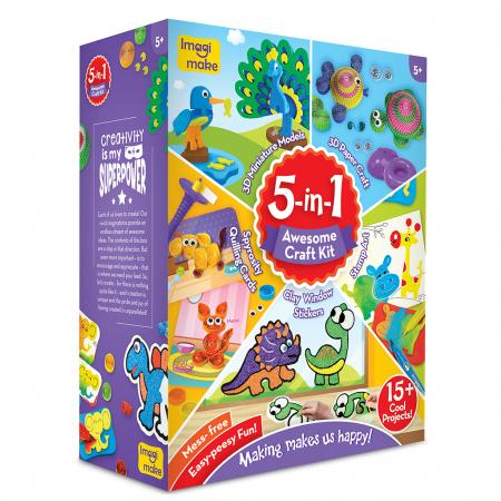 Set Creativ pentru copii 5 in 1 [0]