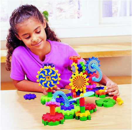 Set de construit Gears! Gears! Gizmos -joc educativ STEM Learning Resources3