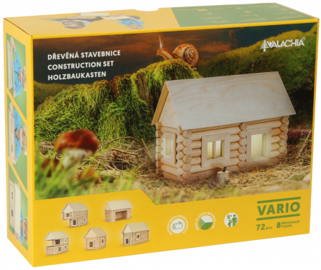 Set de construit Vario 72 piese - joc educativ Walachia5