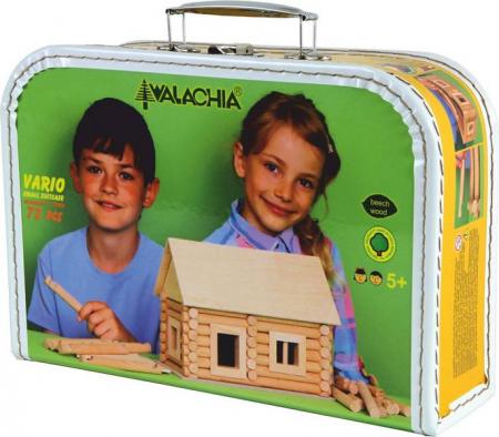 Set de construit Vario caseta 72 piese – joc educativ Walachia0