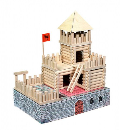 Set de construit Vario Fort – joc educativ Walachia0