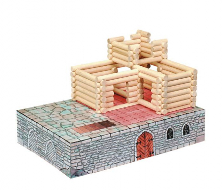 Set de construit Vario Fort – joc educativ Walachia4