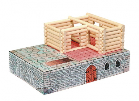 Set de construit Vario Fort – joc educativ Walachia6