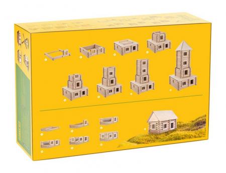Set de construit Vario XL 184 piese – joc educativ Walachia [1]