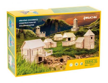 Set de construit Vario XL 184 piese – joc educativ Walachia [2]