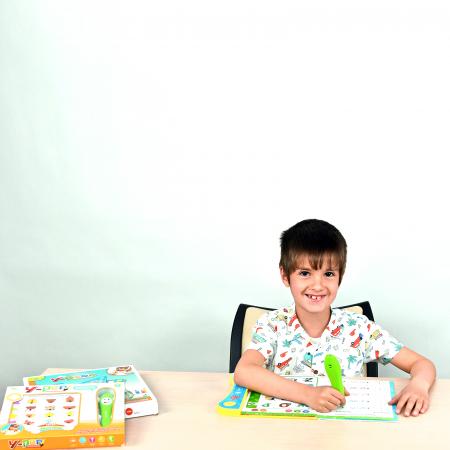 Set invatare Limba Engleza - Carte si Planse cu Creion Interactiv [1]