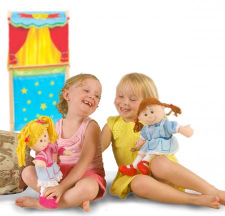 Set papusa si marionete Vrajitorul din Oz / Wizzard of Oz - Fiesta Crafts1