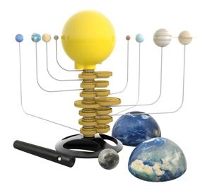 Sistemul Solar Mobil cu 8 planete [4]