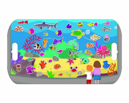 Stickere acvariu / Aquarium - Fiesta Crafts4
