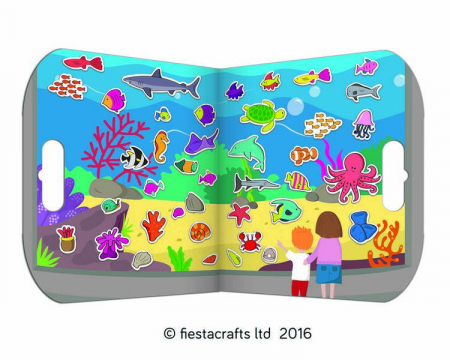 Stickere acvariu / Aquarium - Fiesta Crafts0
