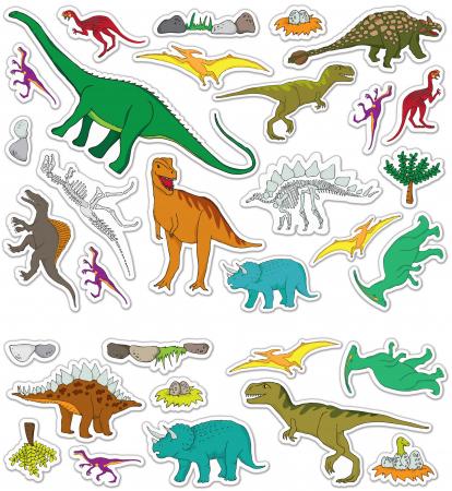 Stickere Dinozauri / Dinosaurs - Fiesta Crafts3