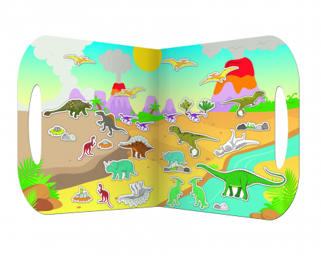 Stickere Dinozauri / Dinosaurs - Fiesta Crafts0