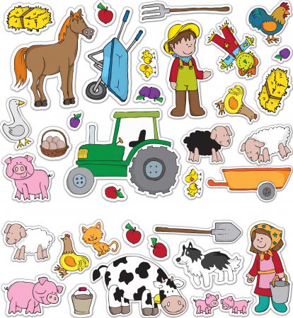 Stickere Ferma / Farm - Fiesta Crafts2