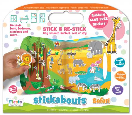 Stickere Safari / Stickabouts Safari0