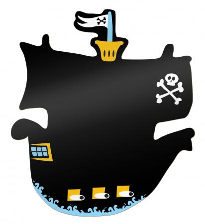 Tabla corabia piratilor / Pirate Ship Chalkboard - Fiesta Crafts0