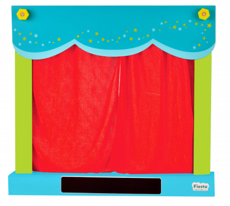 Teatru de papusi si magazin 2in1 / Carry Case Hand Puppet Theatre & Shop5