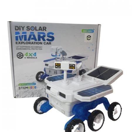 Masina de explorare spatiala cu baterie solara0