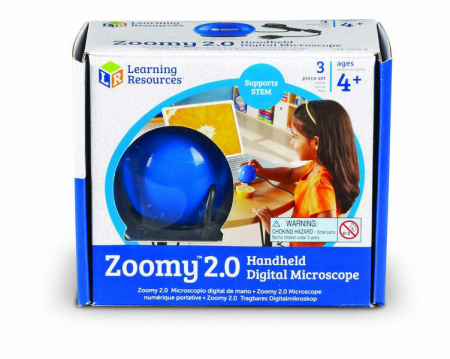 Zoomy - microscop digital portabil pentru copii Learning Resources0