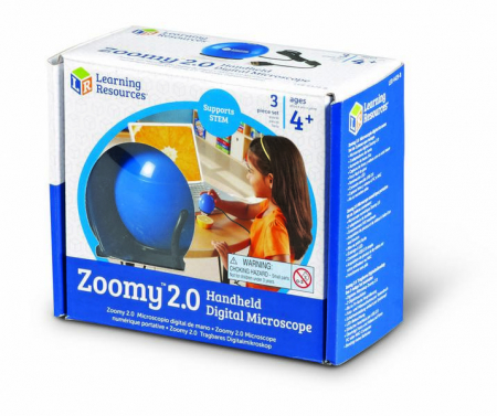 Zoomy - microscop digital portabil pentru copii Learning Resources3