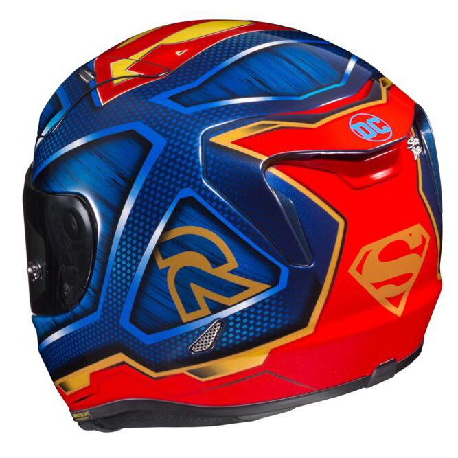 Casca moto integrala HJC RPHA 11 SUPERMAN DC Comics 3