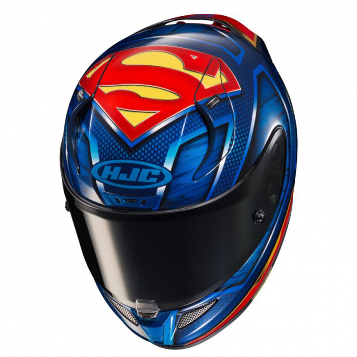 Casca moto integrala HJC RPHA 11 SUPERMAN DC Comics 2
