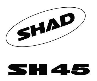 Stickers SHAD Alb for SH45 [0]