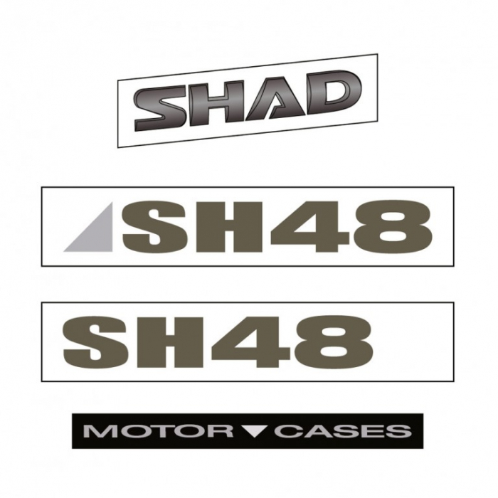 Stickers SHAD for SH48 [0]