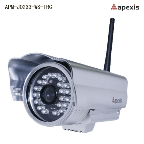 Camera IP wireless de exterior cu filtru IR-CUT Apexis APM-J0233-big