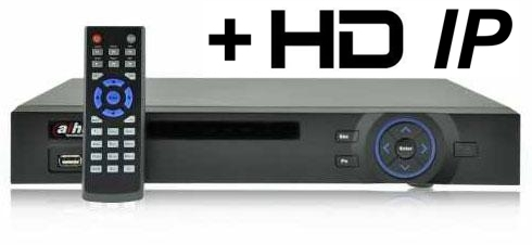 DVR Hybrid Full WD1 4 camere DAHUA DVR5104H-big