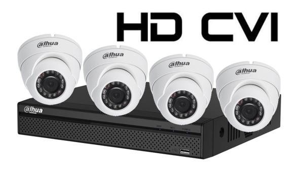 Kit DAHUA supraveghere HD interior/exterior Pro vie04CHD 1Mpixel-big