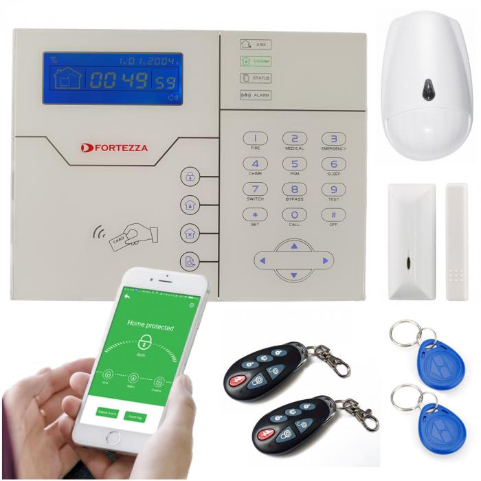 Alarma wireless FORTEZZA PRO GSM/IP M5D-big