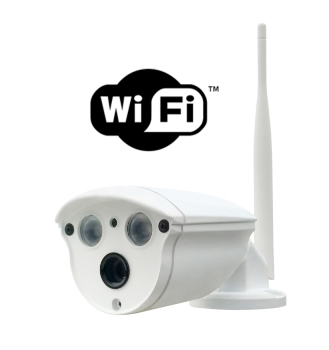 Camera de exterior IP 2 Megapixeli WiFi FORTEZZA IPC-P20e-big