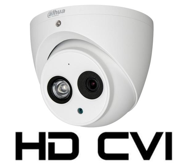 Camera de interior/exterior HDCVI 4 Megapixeli DAHUA HAC-HDW2401EM-big