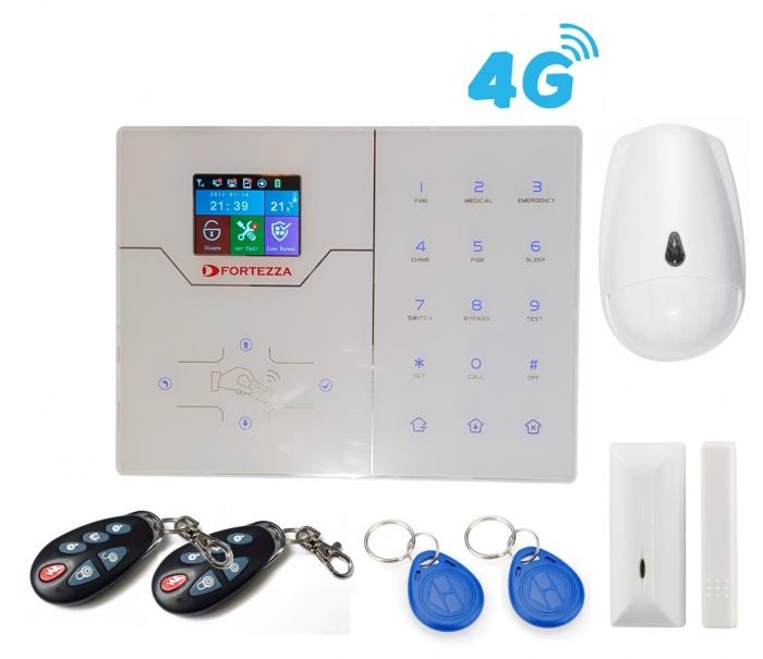 Alarma wireless FORTEZZA PRO GSM/IP 4G M6D-big