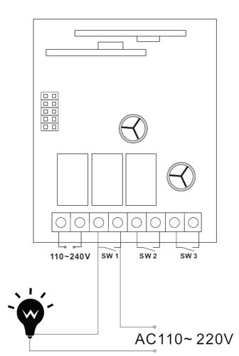 Intrerupator electric wireless Fortezza Pro ks05-big