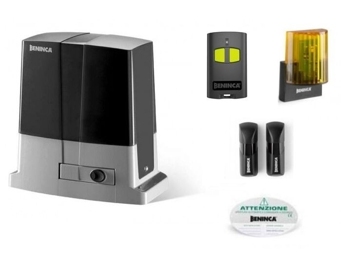 Kit automatizare pentru porti culisante max.500kg Beninca KBULL5M-big