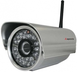 Camera IP wireless de exterior Apexis APM-J602-WS-IR0
