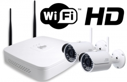 Kit wireless DAHUA IP HD 3Megapixeli supraveghere exterior Pro ve02IPHD_A