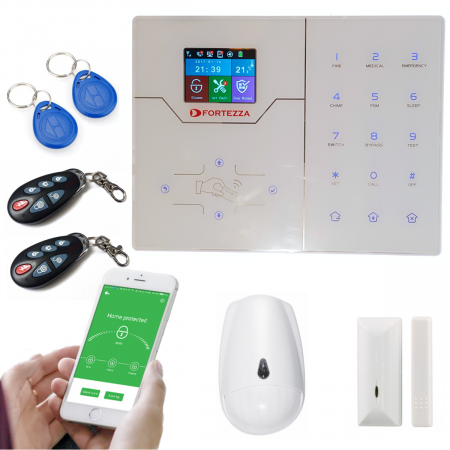 Alarma wireless FORTEZZA PRO GSM/IP M6D