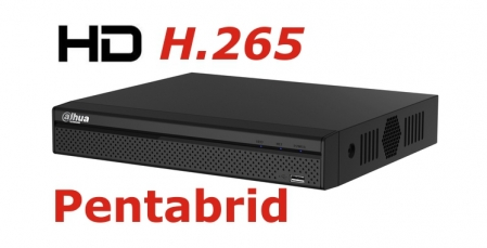 DVR DAHUA XVR5116HS-X Full HD pentabrid 16+8 camere HD+IP